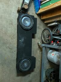 12 inch kicker cvt with truck box