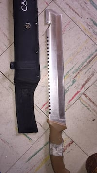 black and gray handled knife Winnipeg, R3A 0M1
