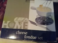 Life at Home cheese fondue set box Brampton, L6S 2B2