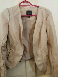 Dynamite pink leather jacket  Calgary, T2B 0G9