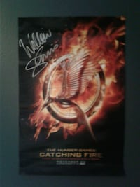 Signed Catching Fire Poster  St. Peters, 63376