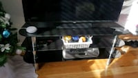 PRICE DROP Tinted Glass TV Stand Mississauga, L5G 1E7