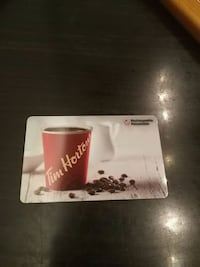 40$ prepaid TimHortons gift card Vancouver, V5T