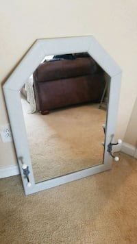clear mirror with white wooden frames McDonough, 30252
