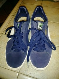 pair of blue-and-white Nike sneakers Moreno Valley, 92557
