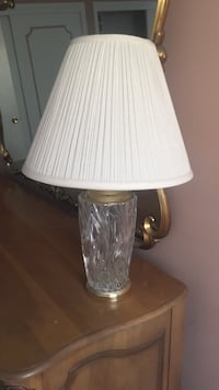 white and gray table lamp Colonia, 07067