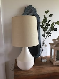 """Working modern neutral lamp 21.5"""" tall West Lincoln, L0R"""