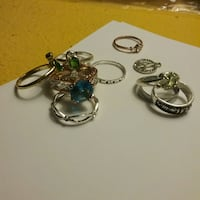 Costume jewelery rings and pemdant Atwater, 95301