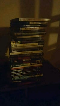 assorted DVD movie case lot Bakersfield, 93301