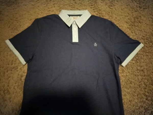 Used Blue And White Penguin Polo Shirt For In North Las Vegas Letgo