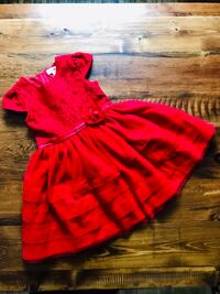 Gorgeous Red Christmas Dress - Size 6