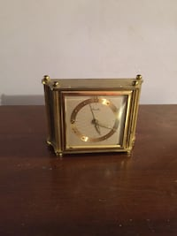 Antique Mauthe alarm clock, working, Made in Germany