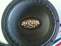 black and gray Kicker subwoofer Rio Rancho, 87124