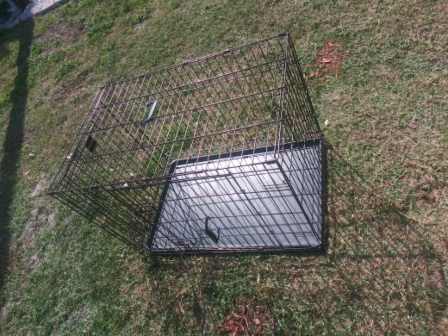 Photo Dog kennel compactable