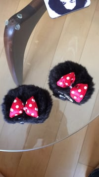 Minnie Mouse hair clips from Disney World Vancouver, V6K 3T2