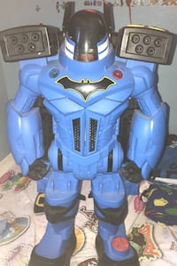 Magine X Batman robot  Was played with a few times. A lot more toys