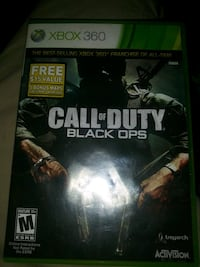 Xbox 360 Call of Duty Black Ops game case Bellflower, 90706