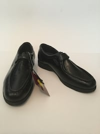 pair of black leather dress shoes Helendale, CA 92342, USA