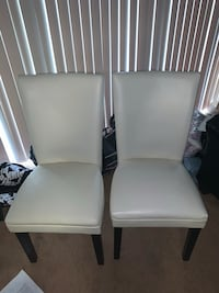Two leather chairs  Suitland, 20746