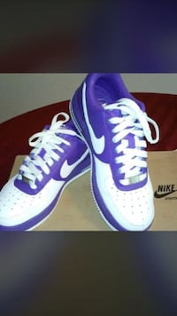Air Force and white and purple Manteca, 95336