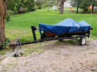 12' Montgomery Ward  fishing boat with trailer Louisville, 40243