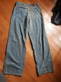 blue denim straight-cut jeans Falls Church, 22046