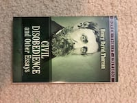 Civil Disobedience and Other Essays book by Henry David Thorcan