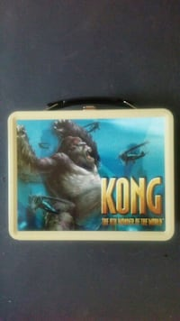 2005 King Kong Lunch Box w/ thermos! Rutherford, 07070