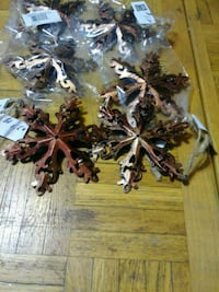 Copper snowflake ornaments set of 6 Chicago, 60639