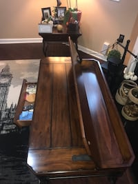 Wood center and end table