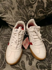 pair of white Adidas low top sneakers Ellicott City, 21042