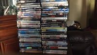 54 dvds and 1 blu ray Boonville, 47601