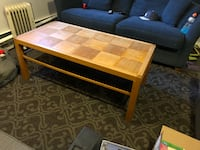 Solid wood coffee table Vancouver, V5N 2A8