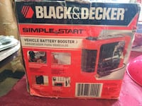 Black and Decker Vehicle Battery Booster for Sale.