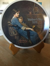 Mother's Day 1978 decorative plate Phoenix, 85029
