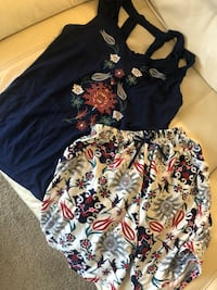 black and white floral dress London, N6H 4T6