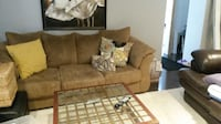 Ultra Suede Sofa - good condition null