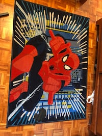 red and black Spider-Man print textile Mississauga, L4Y 4E2