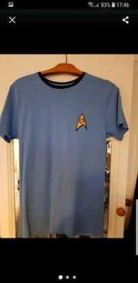 Star Trek Men's Science Blue T-Shirt Greater London
