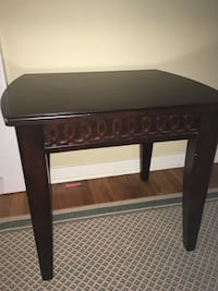 brown wooden single-drawer side table Silver Spring, 20910