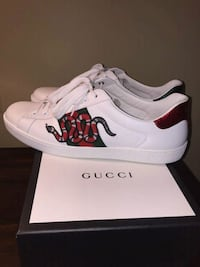 Gucci Ace Snake Sneakers Washington