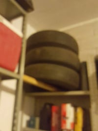 Three gently used tires
