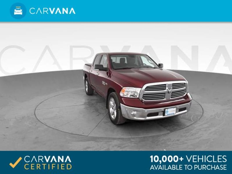 2016 Ram 1500 Crew Cab pickup Big Horn Pickup 4D 5 1/2 ft Red <br 0