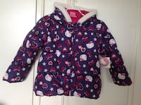 Brand new with tag Hello Kitty purple Winter coat for kids size 7. Excellent gift for Xm Hamilton, L8V 4K6