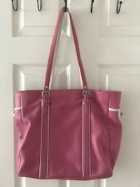Coach pink leather shoulder bag Silver Spring, 20906
