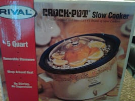 CROCK.POT - Slow Cooker (Rival) 5 Quart