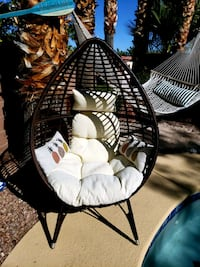 Lounger inside or outside, get cozy in this awesome chair.