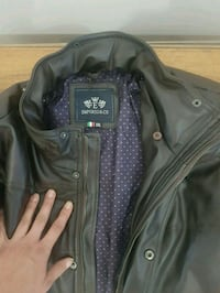 Emporio & co leather jacket for men Edmonton, T5L