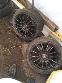 2 rims no tires Brant, N3W