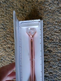 24kt rose gold plated pen beautiful
